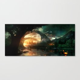 Seeking Solace Canvas Print