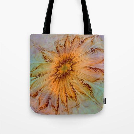 Splendid Fractal Flower 2 Tote Bag