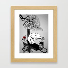 A Winter Story Framed Art Print