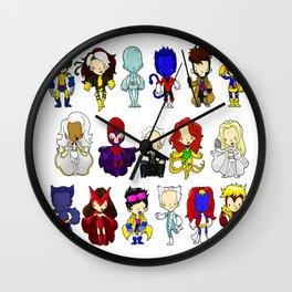 X MEN GROUP Wall Clock