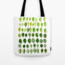 ombre leaves Tote Bag