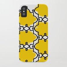 Geometric Painting. Brush Joy  iPhone X Slim Case