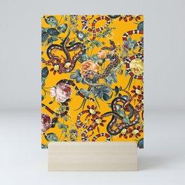 Dangers in the Forest III Mini Art Print