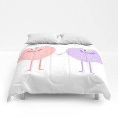 Candy Sweethearts  Comforters