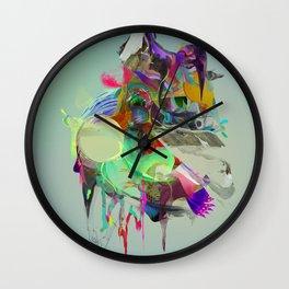 Cold Ember Wall Clock