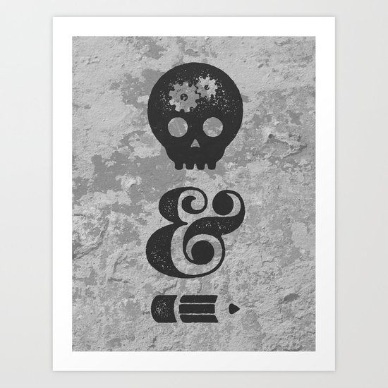 think&draw Art Print