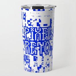 Pixel Reto Travel Mug