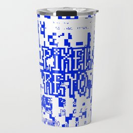 Pixel Reto Travel Mug