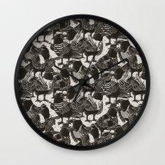 Murder Weapons Wall Clock