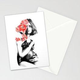 Natalia Vodianova // Fashion Illustration Stationery Cards