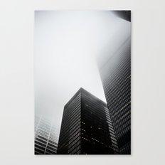 Toronto Fog Canvas Print