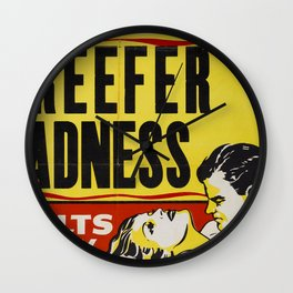 Reefer Madness Wall Clock