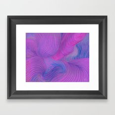Colored Wind - Colored Pencil Framed Art Print