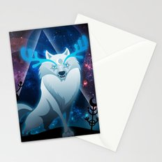 The wonder wolf Stationery Cards