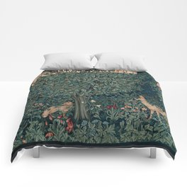 William Morris Greenery Tapestry Comforters