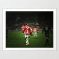 Ronaldo Art Print