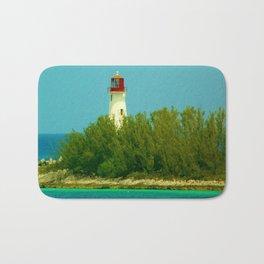 Lighthouse by the Ocean Bath Mat