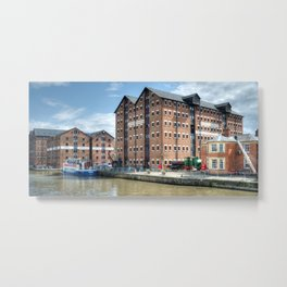 Llanthony Warehouse Metal Print