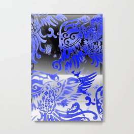 Fly Day or Night Metal Print