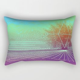HIDDEN LAKE Rectangular Pillow
