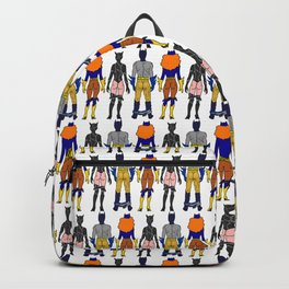 Superhero Butts Love 7 - Cat Bats Backpack