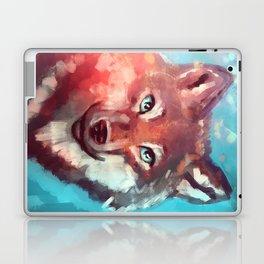 Wolf - Stare - Wanderlust Laptop & iPad Skin