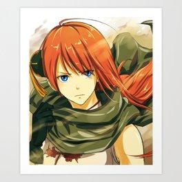 GINTAMA-movie2 kagura Art Print