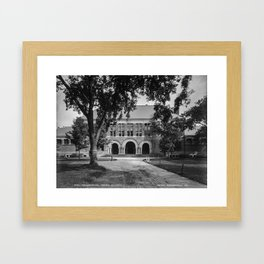 1906 photo of the Law School at Harvard College Framed Art Print