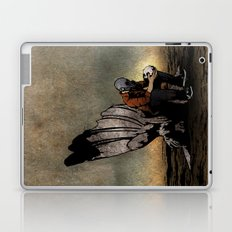 The Angel And The Skull Laptop & iPad Skin