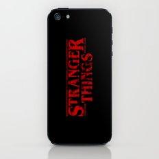 Stranger Things Grunge iPhone & iPod Skin