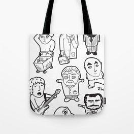 everyday heroes Tote Bag
