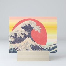Hokusai revisited Mini Art Print
