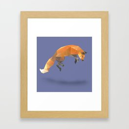 Flying Fox. Framed Art Print