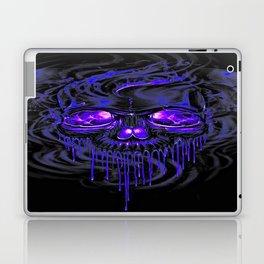 Purple Nurpel Skeletons Laptop & iPad Skin