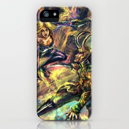 Warrior Trio iPhone Case