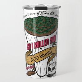 100 blunts Travel Mug