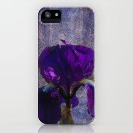Captivating Iris iPhone Case