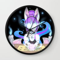 occult Wall Clocks featuring Occult by JekyllDraws