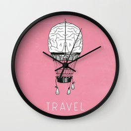 Brain Works Wall Clock