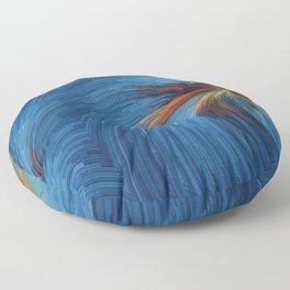 Windy Palms Floor Pillow