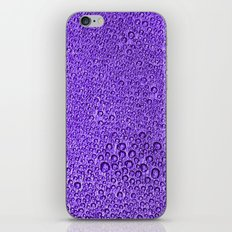 Water Condensation 05 Violet iPhone & iPod Skin