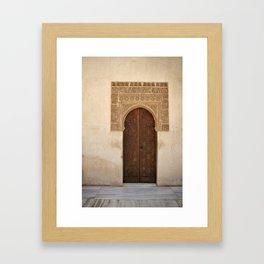 In the Alhambra Framed Art Print