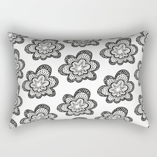 Love Bomb Rectangular Pillow