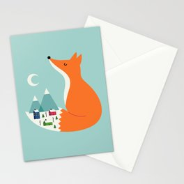 Winter Dreams Stationery Cards