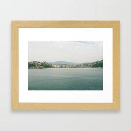 La Concha Beach, San Sebastian - Donostia-San, Spain III Framed Art Print