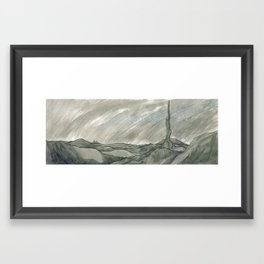 Ridge Framed Art Print