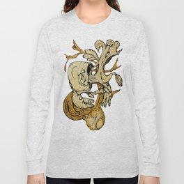 Wood Vomit.. Long Sleeve T-shirt