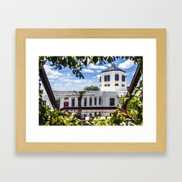 Jail Cell Views Framed Art Print