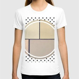 Toned Down - small triangle graphic T-shirt