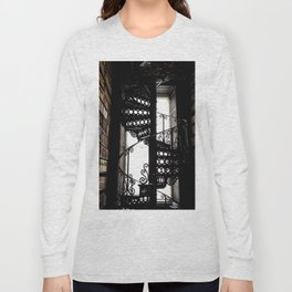 Trinity College Library Spiral Staircase Long Sleeve T-shirt